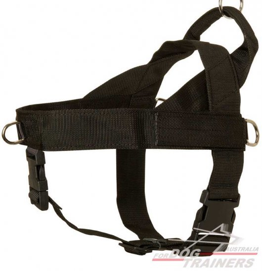 All Weather Professional Training Nylon Dog Harness for Working Dogs