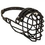 Top Class Wire Basket Winter Dog Muzzle