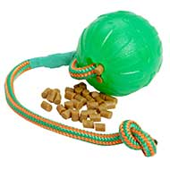 'Roll and Throw' Rubber Chew Dog Ball
