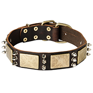 Handcrafted Vintage Spiked Dog Collar