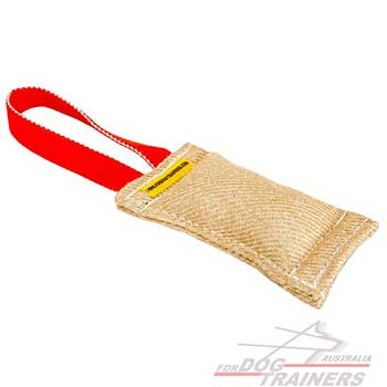 One Handle Training Jute Bite Item for Dogs
