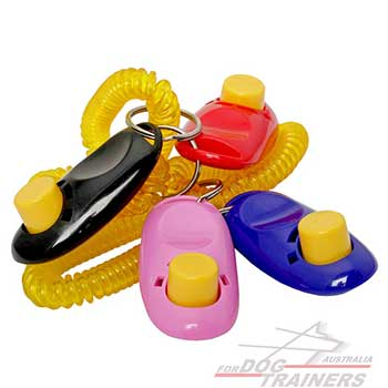 Training Colorful Dog Clickers
