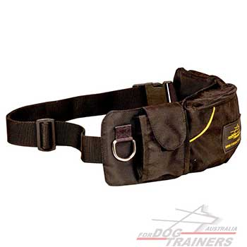 Nylon Pouch with Adjustable Belt