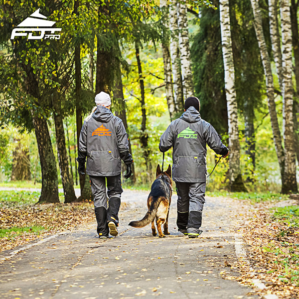 FDT Professional Dog Training Jacket of Top Notch for All Weather Use