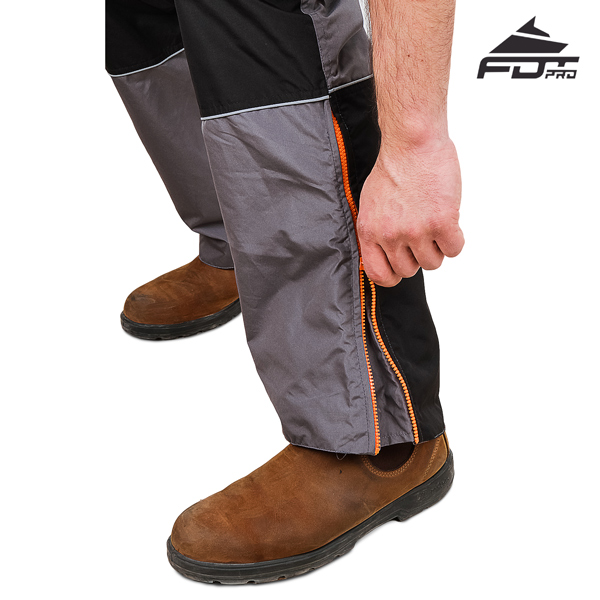 FDT Pro Pants with Durable Zippers for Dog Trainers