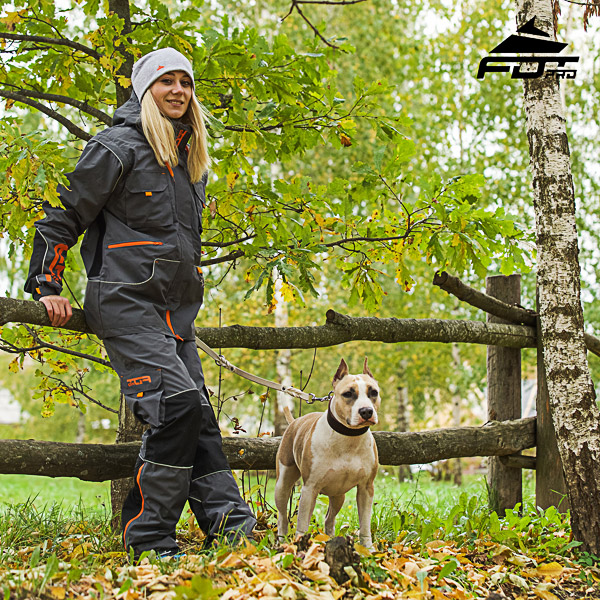 Convenient Side Pockets on Men and Women Design Pants for Active Dog Trainers