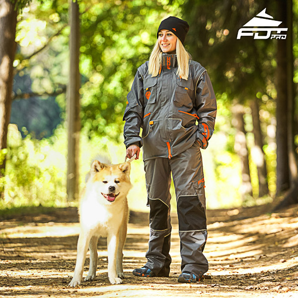 Men / Women Design Dog Trainer Jacket of Top Quality Materials